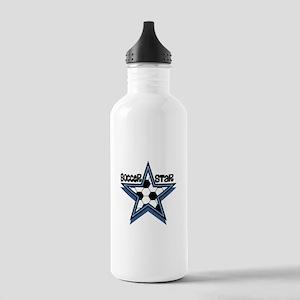 Soccer Star Stainless Water Bottle 1.0L