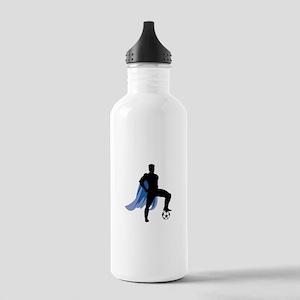Soccer Super Hero Stainless Water Bottle 1.0L