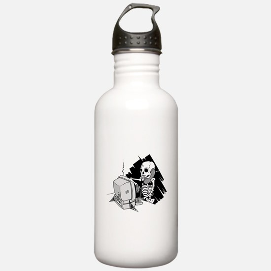 Funny Software Pirate Water Bottle