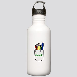 Pocket Protector Geek Stainless Water Bottle 1.0L