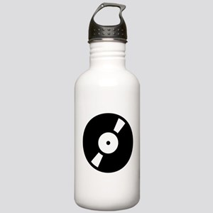 Retro Classic Vinyl Record Stainless Water Bottle