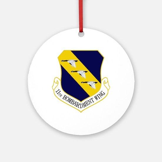 11th Bomb Wing Ornament (Round)