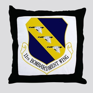11th Bomb Wing Throw Pillow