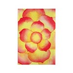 Flametip Flower Rectangle Magnet