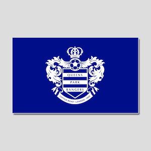 Queens Park Rangers Crest Car Magnet 20 x 12