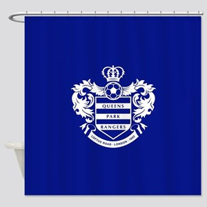 Queens Park Rangers Crest Shower Curtain