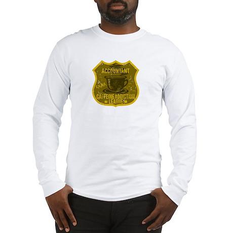 Accountant Caffeine Addiction Long Sleeve T-Shirt