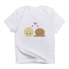 Waffle and Ice Cream Love Infant T-Shirt