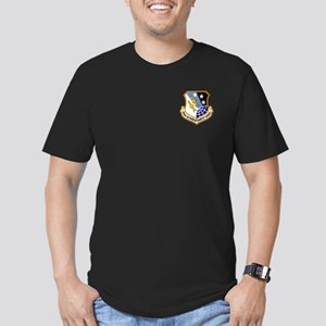 416th Bomb Wing Men's Fitted T-Shirt (Dark)