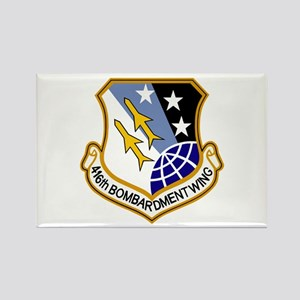 416th Bomb Wing Rectangle Magnet