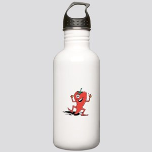 Happy Chili Pepper Stainless Water Bottle 1.0L