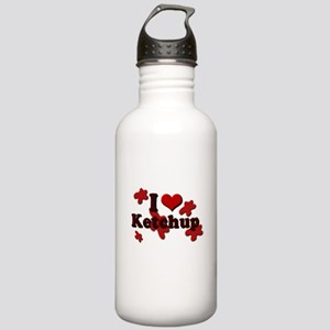 I Love Ketchup Stainless Water Bottle 1.0L