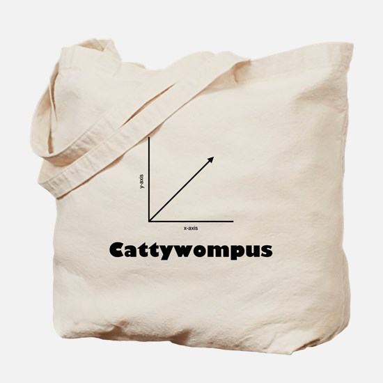 Cattywompus Tote Bag