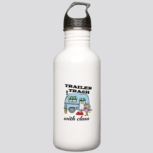Trailer Trash with Class Stainless Water Bottle 1.