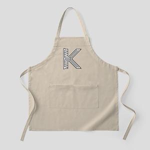 Letter K Maze Apron