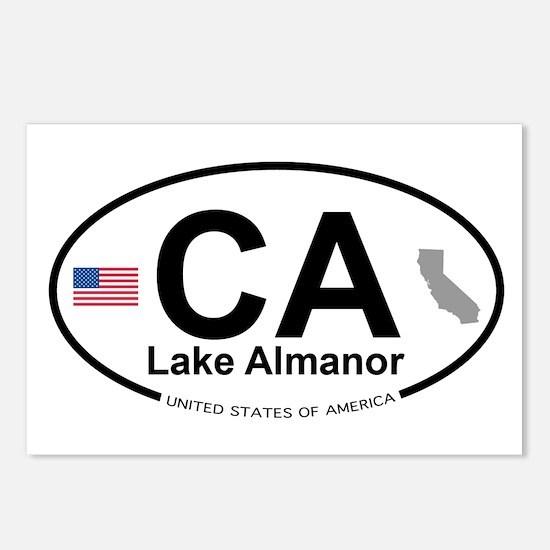 Lake Almanor Postcards (Package of 8)