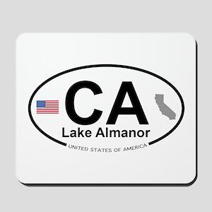 Lake Almanor Mousepad