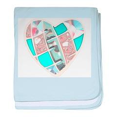 Chrome Heart baby blanket