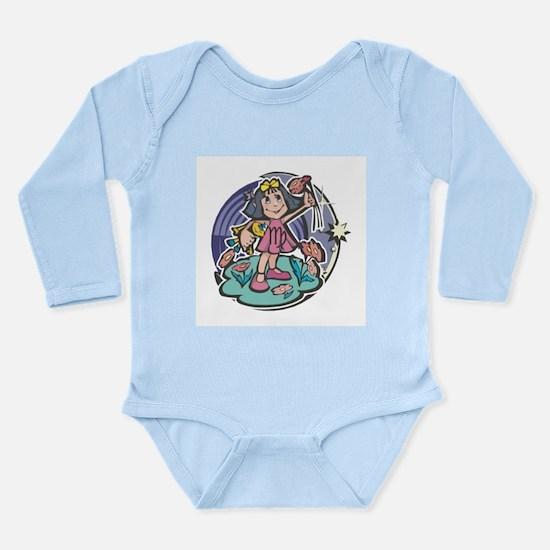 Virgo Baby Long Sleeve Infant Bodysuit