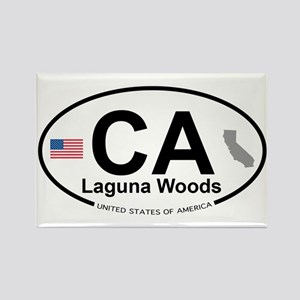 Laguna Woods Rectangle Magnet