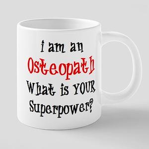 osteopath 20 oz Ceramic Mega Mug
