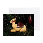 Baby Camel Christmas Greeting Card