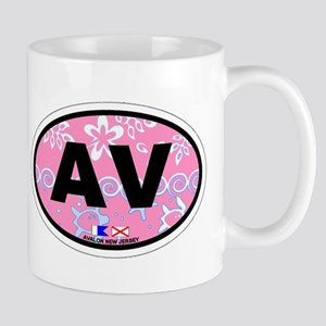 Avalon NJ - Oval Design Mug