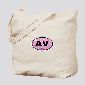 Avalon NJ - Oval Design Tote Bag