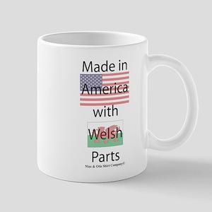 Made in America-Welsh Mug