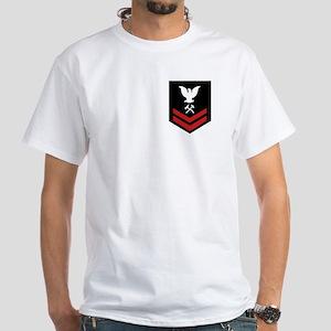 Damage Controlman Second Class White T-Shirt
