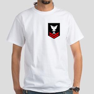 Gunner's Mate Second Class White T-Shirt