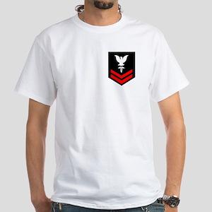 Hospital Corpsman Second Class White T-Shirt