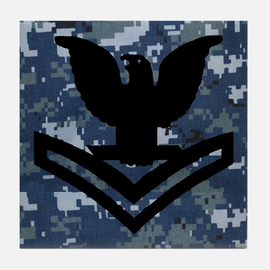 Petty Officer Second Class Tile Coaster 4