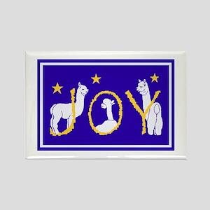 """Alpaca Joy"" Rectangle Magnet"