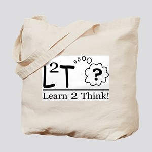 Learn2Think Tote Bag