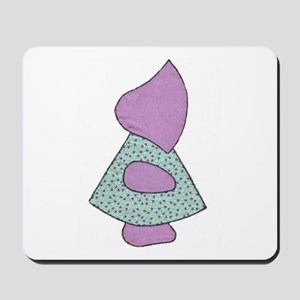 Sunbonnet Sue (quilt applique) Mousepad