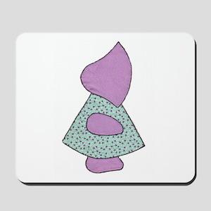 Sunbonnet Sue (quilt applique) Mousepad