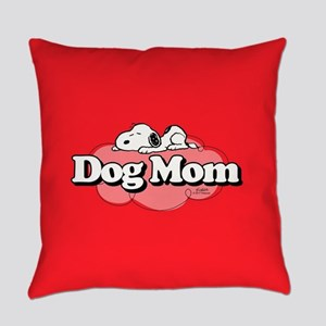 Snoopy Dog Mom Everyday Pillow