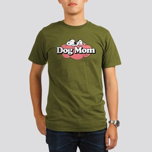 Snoopy Dog Mom Organic Men's T-Shirt (dark)