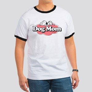 Snoopy Dog Mom Ringer T