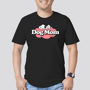Snoopy Dog Mom Men's Fitted T-Shirt (dark)