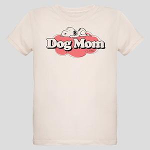 Snoopy Dog Mom Organic Kids T-Shirt
