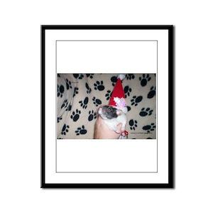 Holiday Ratty Framed Panel Print