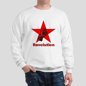 Commie Revolution Star Fist Sweatshirt