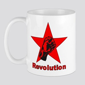 Commie Revolution Star Fist Mug