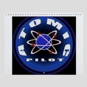 Atomic Pilot Wall Calendar