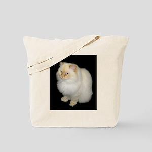 Zeus the White Himalayan Cat Tote Bag