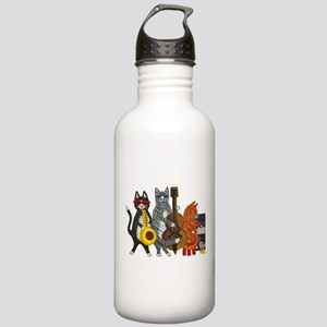 Jazz Cats Stainless Water Bottle 1.0L