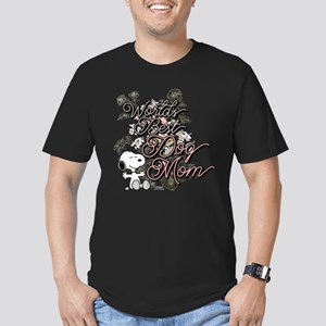 Snoopy World's Best Do Men's Fitted T-Shirt (dark)