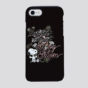 Snoopy World's Best Dog Mom iPhone 7 Tough Case